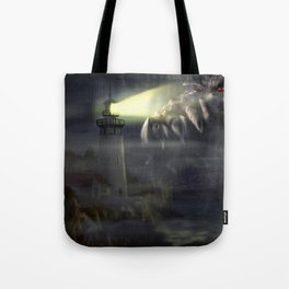 Visit from Leviathan Tote Bag