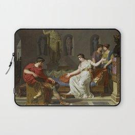 Cleopatra and Octavian Laptop Sleeve