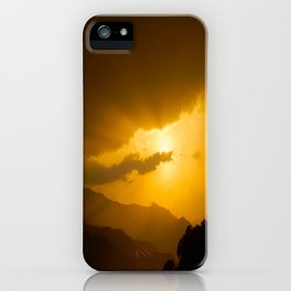 Lake Phewa Sunset, Lakeside, Pokhara, Nepal iPhone Case