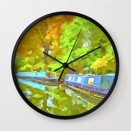 Little Venice London Pop Art Wall Clock