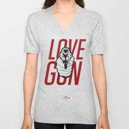 Love Gun Unisex V-Neck