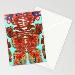 Aztec Space Golem Stationery Cards