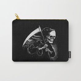 DEATH WILL HAVE HIS DAY Carry-All Pouch