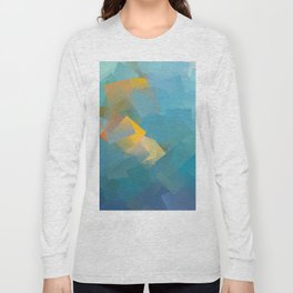 Cubism Abstract 184 Long Sleeve T-shirt