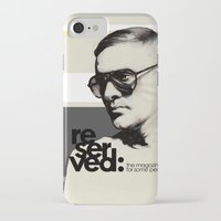 ben giles iPhone & iPod Cases featuring Reserved Magazine Giles Deacon by Mitja Bokun