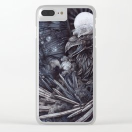 Birth of the Star Clear iPhone Case