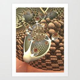 Brainflower Art Print