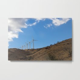 The Power of Wind Metal Print