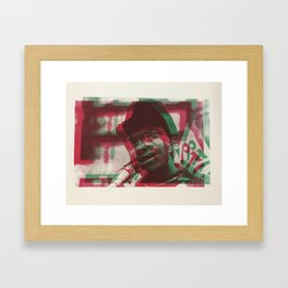 High off the People Framed Art Print