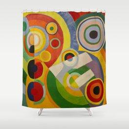 """Robert Delaunay """"Rythme, Joie de vivre"""" Shower Curtain"""