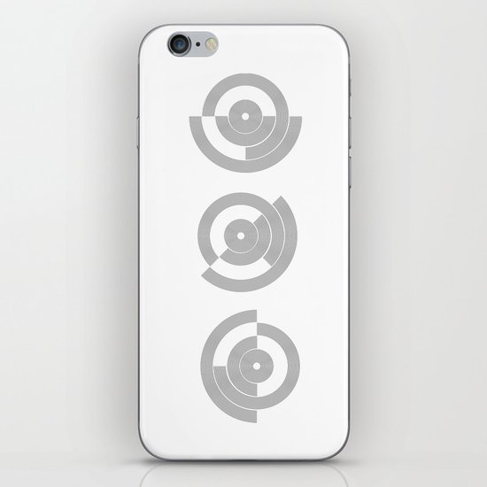 circle pattern 01 iPhone & iPod Skin