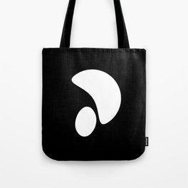 Minimal White 4 Tote Bag