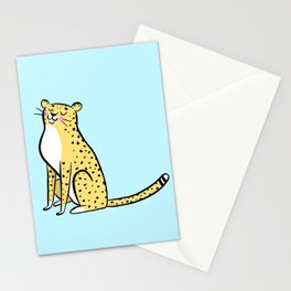 Cheetah Print by ROH NOH Stationery Cards
