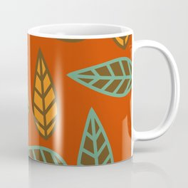 Retro floral club Coffee Mug