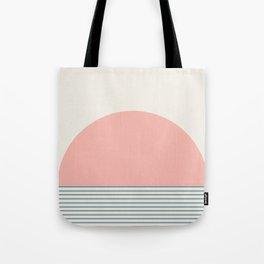 Sunrise / Sunset - Pink & Blue Tote Bag