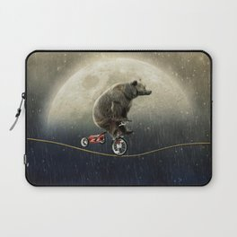 balancing act (under the weather) Laptop Sleeve
