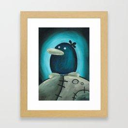 Raphael the Raven Framed Art Print