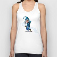 bender Tank Tops featuring Water Bender by MDDesigns