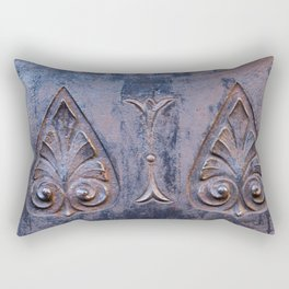 Against the Wall Rectangular Pillow