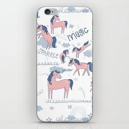 Unicorn hills iPhone Skin