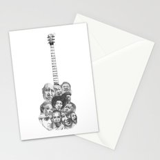 The Blues Stationery Cards