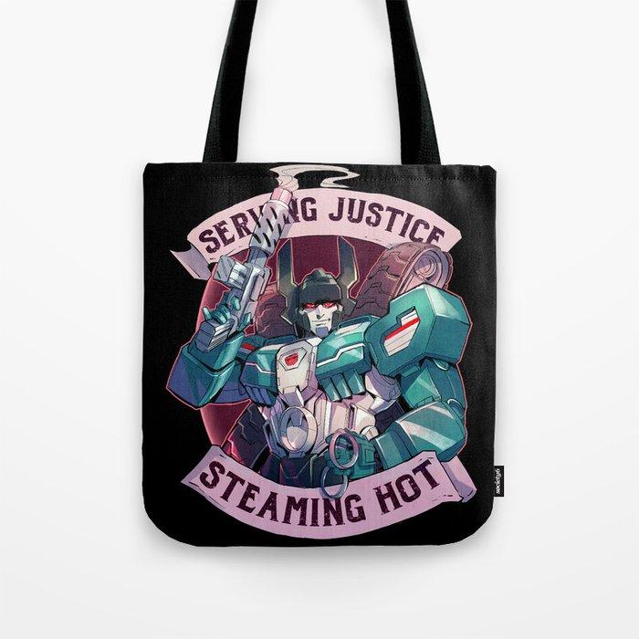 Maximum Justice Tote Bag