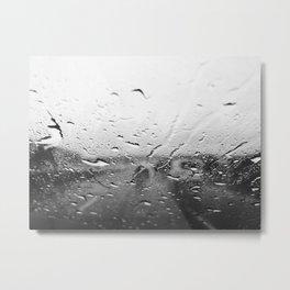 New England Rain Metal Print