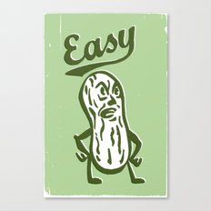 Easy Peanut Canvas Print