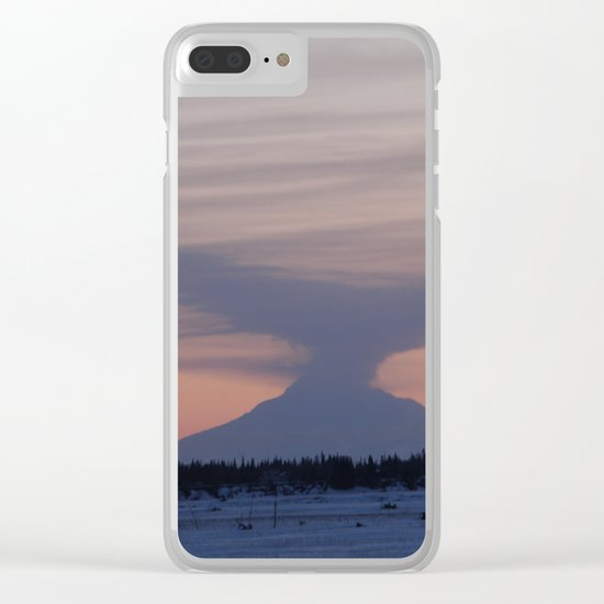 Ash in the Winds Clear iPhone Case
