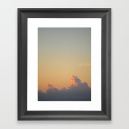Soft Light Framed Art Print