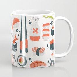 Sushi Dreams – White Coffee Mug