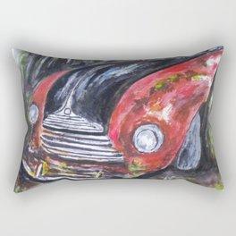 Abandoned in Woods Rectangular Pillow
