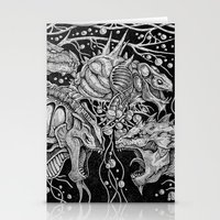dragons Stationery Cards featuring Dragons by Walid Aziz