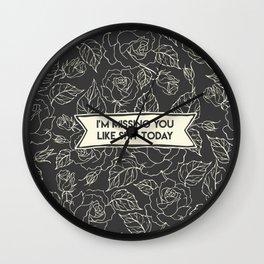 lime st. - neck deep Wall Clock