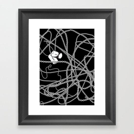 TENDER LOVE II Framed Art Print
