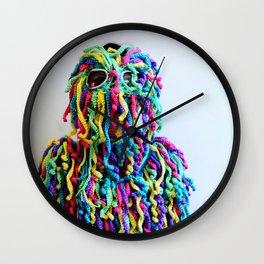 Fringe Panic (portrait) Wall Clock