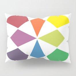 Rainbow block Pillow Sham