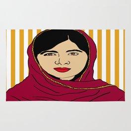 Malala Yousafzai  Rug