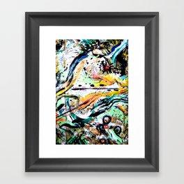 ---- You All The Time // Jeremih (Shlohmo remix) Framed Art Print