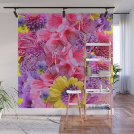 SPING FOWERS Wall Mural