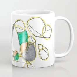 Large Cubes Coffee Mug
