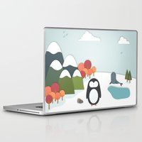 biology Laptop & iPad Skins featuring South Pole by Find a Gift Now