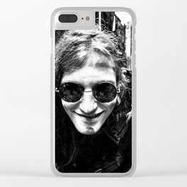 The Madman Clear iPhone Case