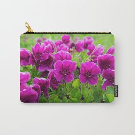 Beauty purple flowers Rhododendron camtschaticum Carry-All Pouch