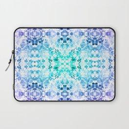 Floral Print - Teal & Purple Laptop Sleeve