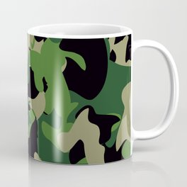 Camouflage Jungle style Coffee Mug