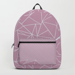 Ab Lines 45 Pink Backpack