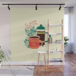Coffee Time Wall Mural