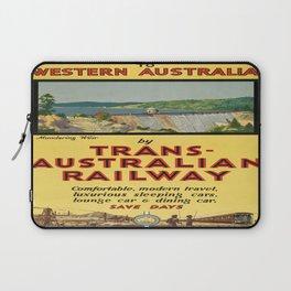 Vintage poster - Western Australia Laptop Sleeve