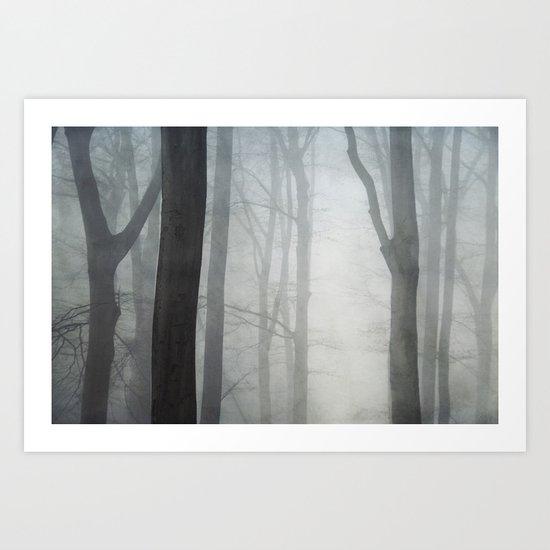 absolute silence Art Print